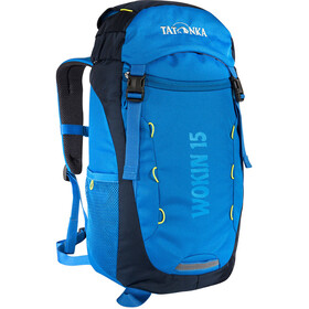 Tatonka Wokin 15 Bagpack Kinderen, bright blue